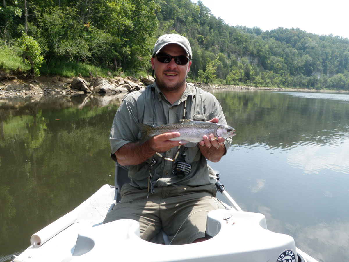 Cumberland river deep south fly anglers for Cumberland river fishing