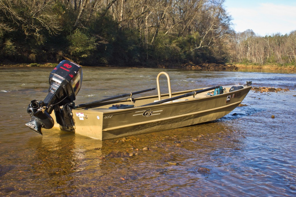 G3 jet boat archives deep south fly anglers for Best river fishing boat