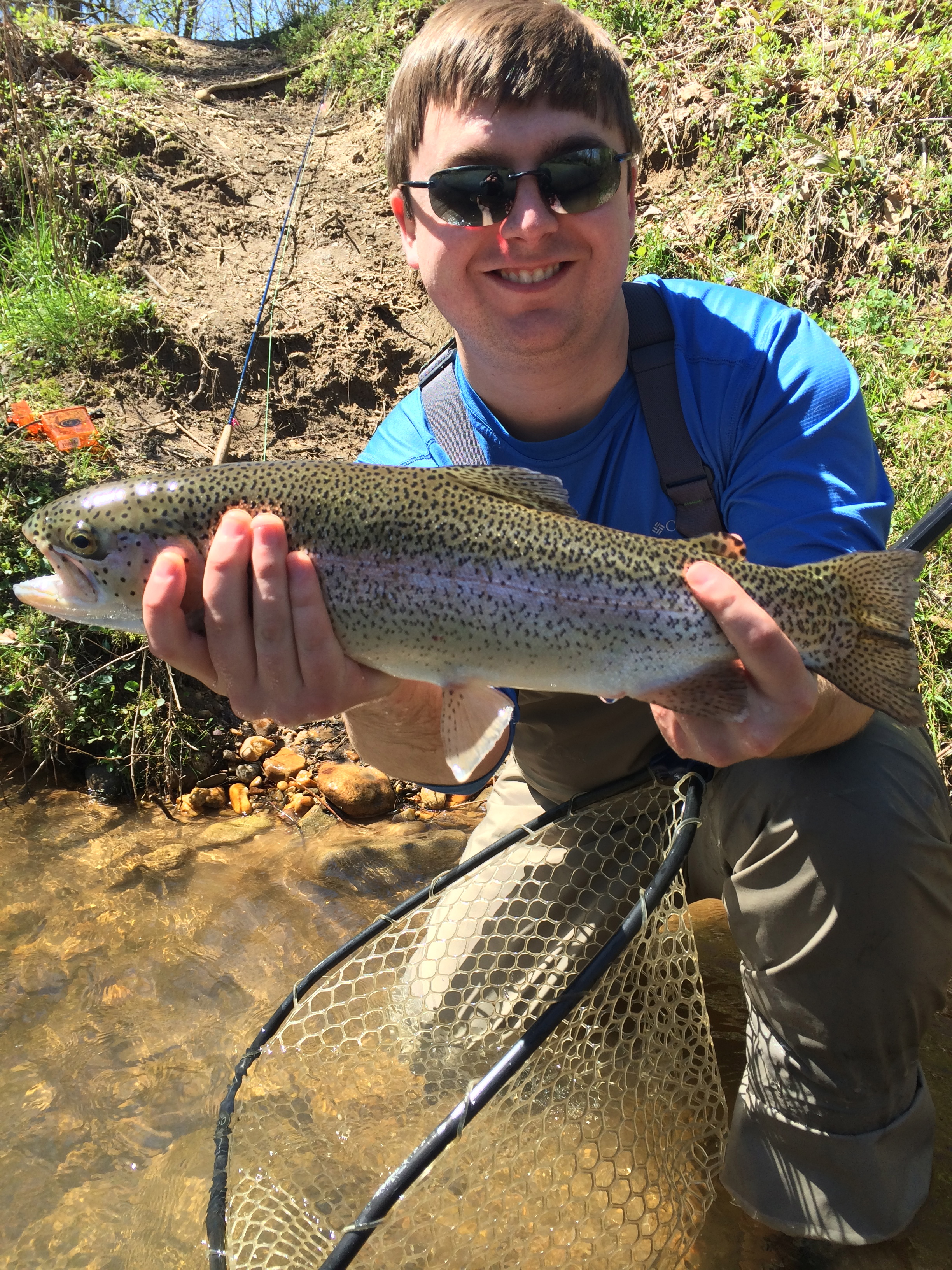 Georgia trophy trout fly fishing guide trips deep south for Trout fishing in ga